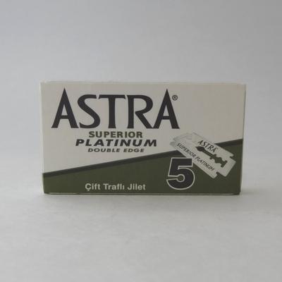 Astra Superior Platinum ($2.00/5 pack) ($18.00/100 pack)
