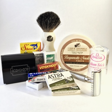 The badger package wet shaving starter kit by shave valet Saskatoon YXE