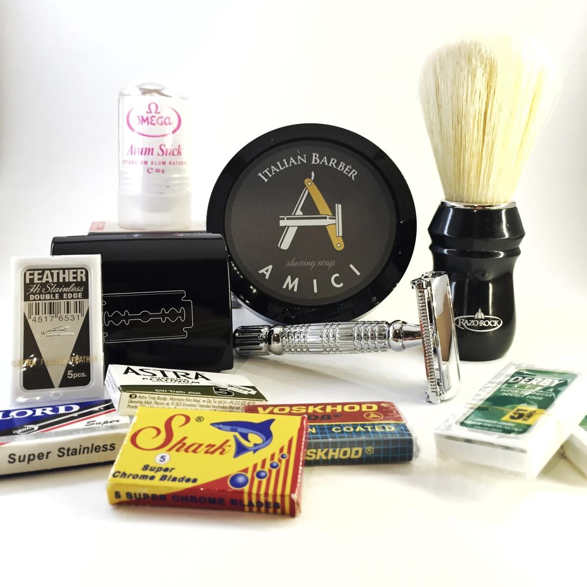 The boar package wet shaving starter kit by shave valet Saskatoon YXE