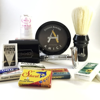The boar package wet shaving starter kit by shave valet Saskatoon YXE