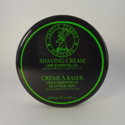 Castle Forbes Lime Essential Oil Shaving Cream (200ml) $60.00