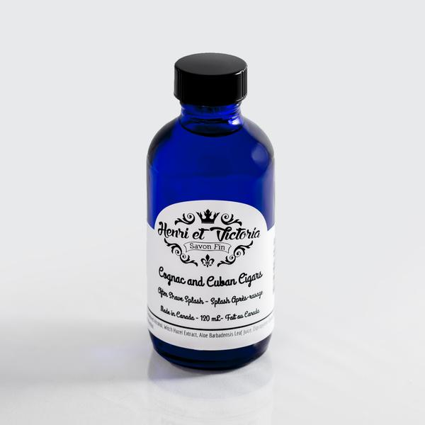 Henri et Victoria Cognac and Cuban Cigars Aftershave Splash [120 ml] $26.00