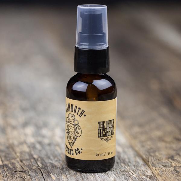 Mammoth Beard Co. Devil's Reserve Argan Beard Conditioning Oil [30ml] $30.00