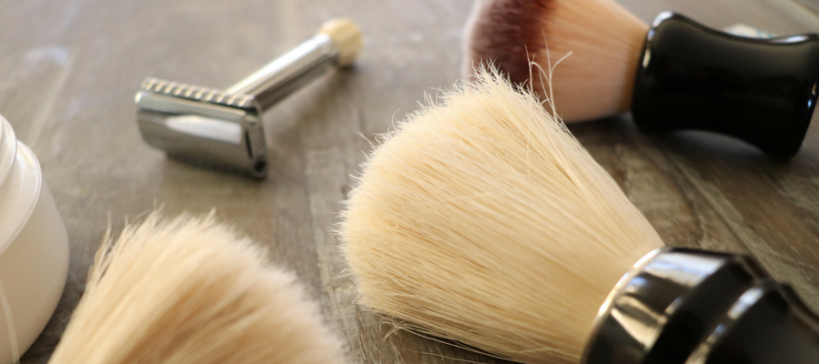 Choosing a Shaving Brush blog by Shave Valet Saskatoon YXE