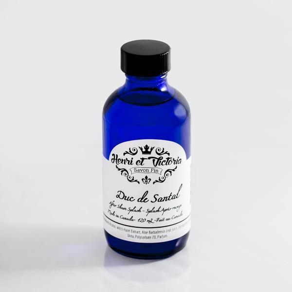 Henri et Victoria Duc de Santal Aftershave Splash [120 ml] $26.00