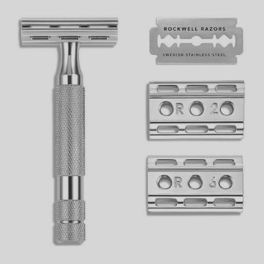 Rockwell Razors 6C White Chrome (Adjustable) $65.00