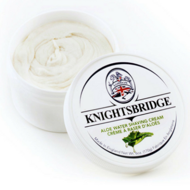 Knightsbridge Aloe Water Shaving Cream $20.00