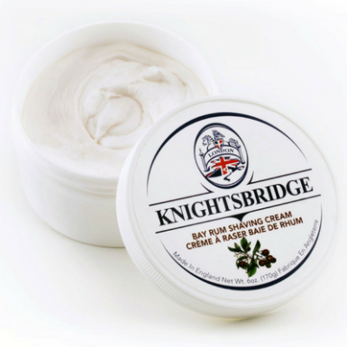 Knightsbridge Bay Rum Shaving Cream $20.00