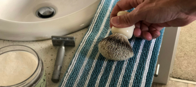 6 Shaving Brush Mistakes to Avoid Blog by Shave Valet Saskatoon, Saskatchewan, Canada