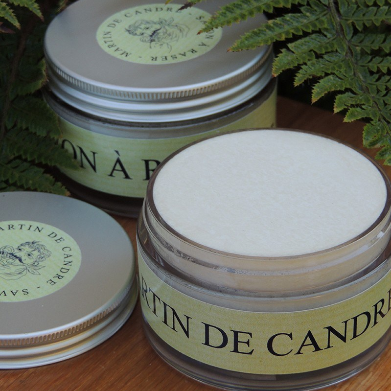 Martin de Candre Fougère [Fern] Shave Soap 200 ml $99.00 available at Shave Valet Saskatoon, Saskatchewan, Canada