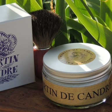 Martin de Candre Original Shave Soap 200 ml $96.00 available at Shave Valet Saskatoon, Saskatchewan, Canada