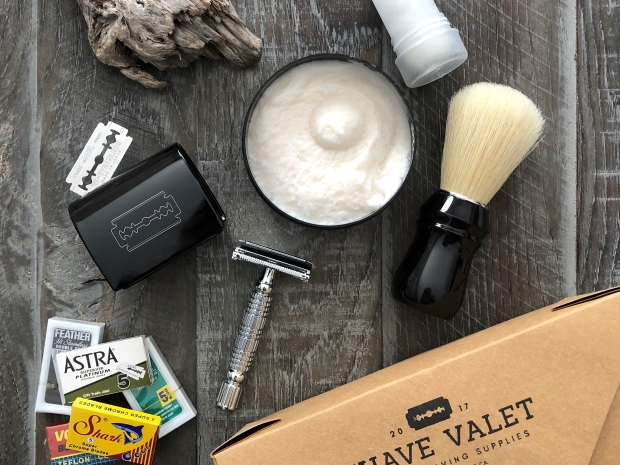 The Boar Safety Razor Wet Shaving Starter Kit by Shave Valet Saskatoon.